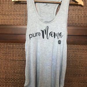 "Pure Barre ""Pure Mama"" tank"